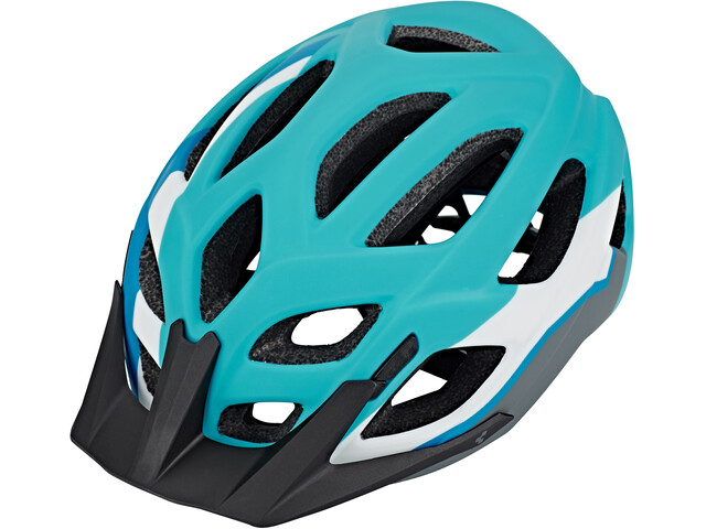 Cube Pro - Casco de bicicleta - blanco/Turquesa